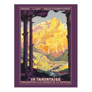 Pralognan de la Vanoise Carte Postale