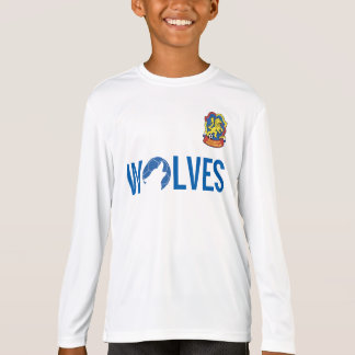 Pratique en matière Jersey - LS d'enfants T-shirt