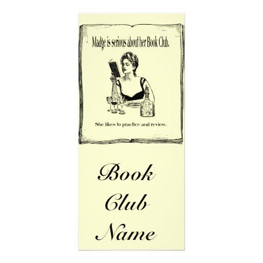 Pratique pour la conception vintage de club de lec modèle de double carte