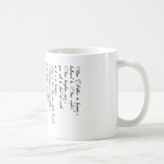Prayer Cup du seigneur Mug
