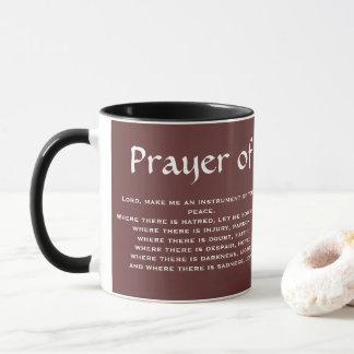 PRAYER* de tasse de café de FRANCIS de SAINT