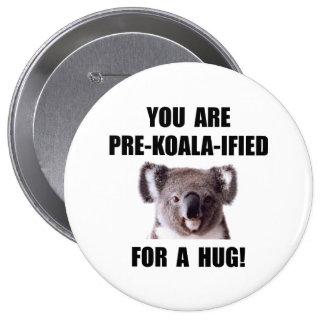 Pré étreinte qualifiée par koala badge