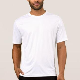 Précaution - coureur sur la route t-shirt