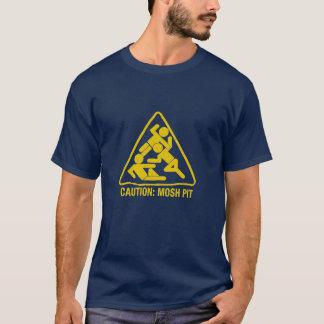 précaution - mosh le puits t-shirt