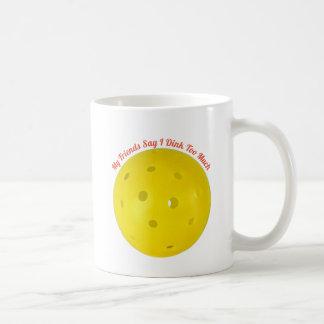"""""""Précaution :  Tasse de café de Dinker lourd"""""""