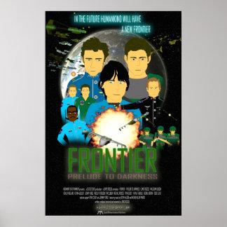 Prélude de frontière de QG à l'affiche de film d'o Posters