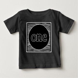 Premier anniversaire de bébé une chemise à la mode t-shirt pour bébé