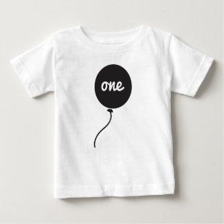 Premier blanc de la chemise | de l'anniversaire du t-shirt pour bébé