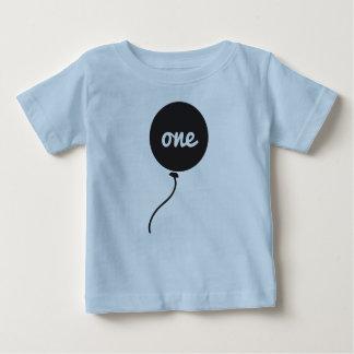 Premier bleu de la chemise | de l'anniversaire du t-shirt pour bébé
