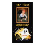 Premier carte photo de coutume de Halloween Photocarte Customisée