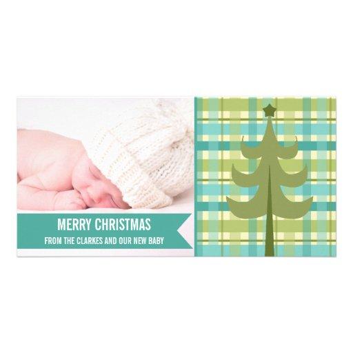 Premier carte photo de Noël de bébé en bon état mi Cartes De Vœux Avec Photo