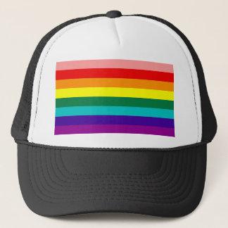 Premier casquette de drapeau de gay pride