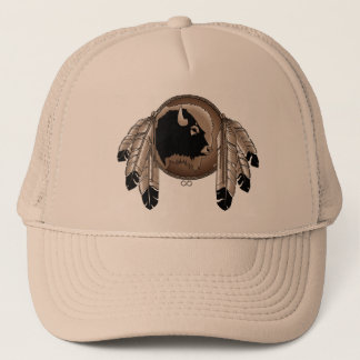 Premier casquette de faune de Buffalo de casquette