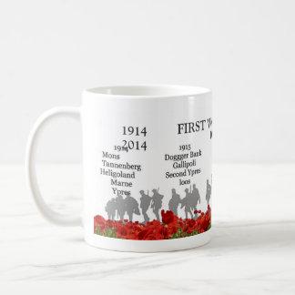 Premier centenaire de guerre mondiale mug