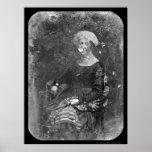 Premier daguerréotype 1848 de Madame Dolley Madiso Posters