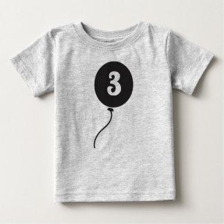 Premier gris de la chemise | de l'anniversaire du t-shirt pour bébé