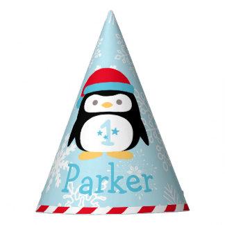 Premier hiver ONEderland du chapeau   de fête