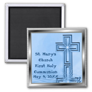 Premier magnet de sainte communion de coutume