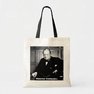Premier ministre britannique monsieur Winston Sac En Toile