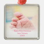 Premier Noël du bébé Décoration Pour Sapin De Noël