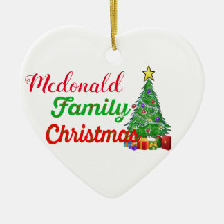 premier ornement de décoration de Noël de famille
