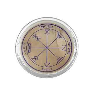 Premier pentagramme de Jupiter Bagues