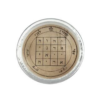 Premier pentagramme de Saturn Bague