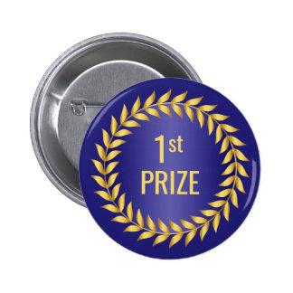 Premier prix d'or et de bleu badge