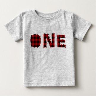 Premier T-shirt d'anniversaire de bûcheron
