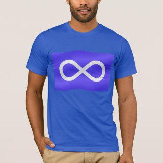 Premier T-shirts de drapeau de Metis de chemise de