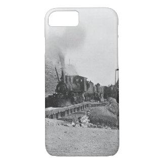 Premier train passant par le mur de Pékin, ch Coque iPhone 8/7