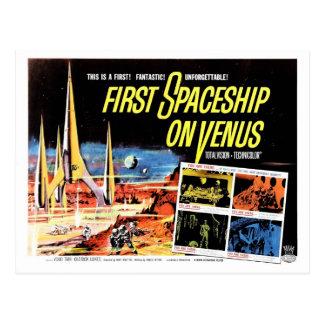 """""""Premier vaisseau spatial carte postale sur Vénus"""""""