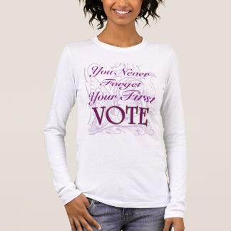 Premier vote t-shirt à manches longues