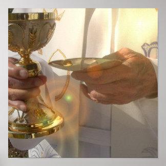 Première affiche de communion