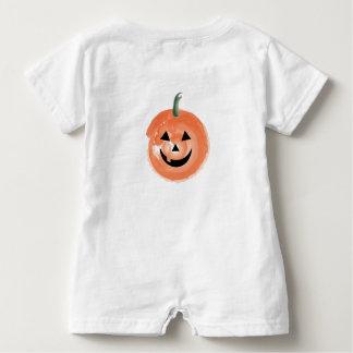 Première barboteuse de bébé de Halloween du bébé