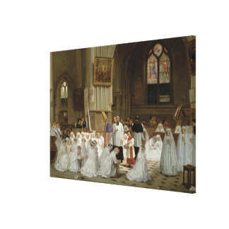 Première communion, 1867 impressions sur toile