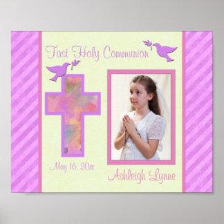"""Première communion 8"""""""" insertion de vue de la affiches"""