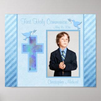 """Première communion 8"""""""" insertion de vue de la phot poster"""
