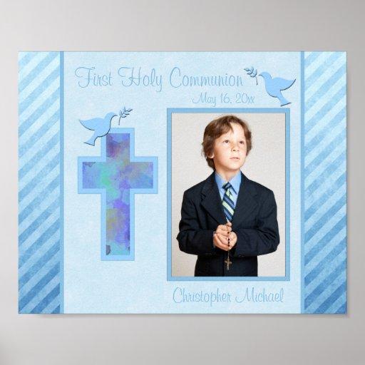 """Première communion 8"""""""" insertion de vue de la phot posters"""