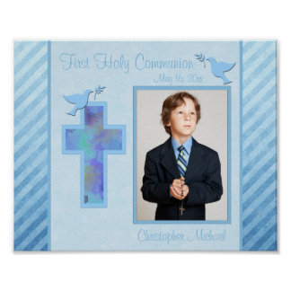 """Première communion 8"""""""" insertion de vue de la poster"""