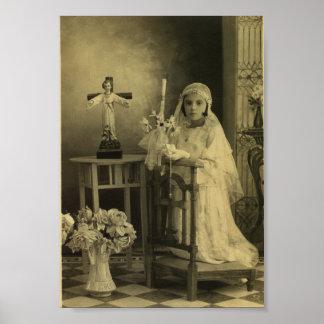 Première communion de cru affiches
