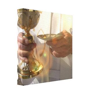 Première copie de toile de communion toiles tendues