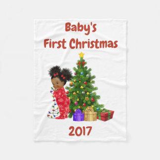 Première couverture de Noël du bébé
