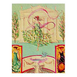 Première déesse Athéna Carte Postale