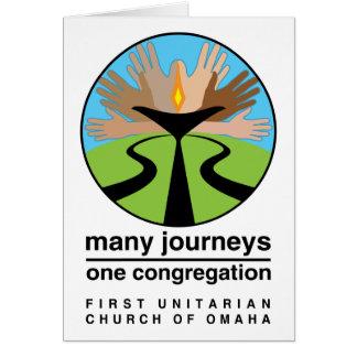 Première église unitarienne d'Omaha Cartes