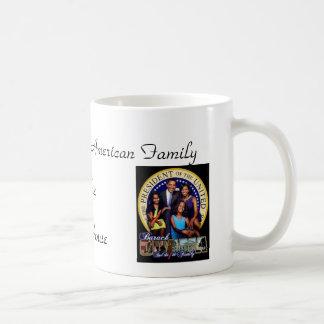 Première famille d'Afro-américain Mug