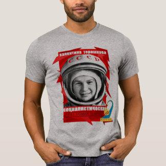 PREMIÈRE FEMME de Valentina Tereshkova DANS T-shirt