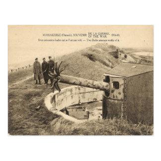 Première Guerre Mondiale, Belgique, Mariakerke, Carte Postale