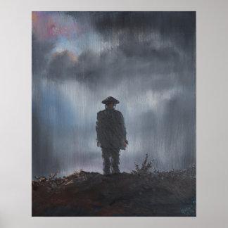 Première guerre mondiale de soldat inconnu 2014 posters