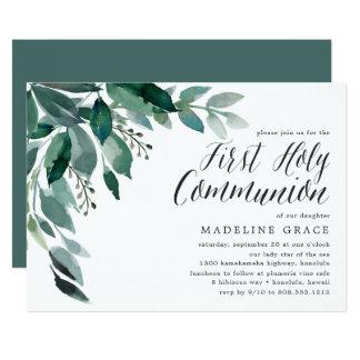 Première invitation abondante de sainte communion